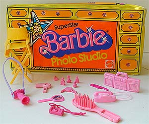 Barbie Photo Studio with Cameras